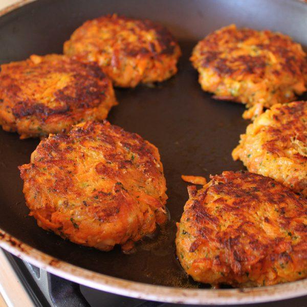Rezept Vegane / Vegetarische Karottenpflanzerl