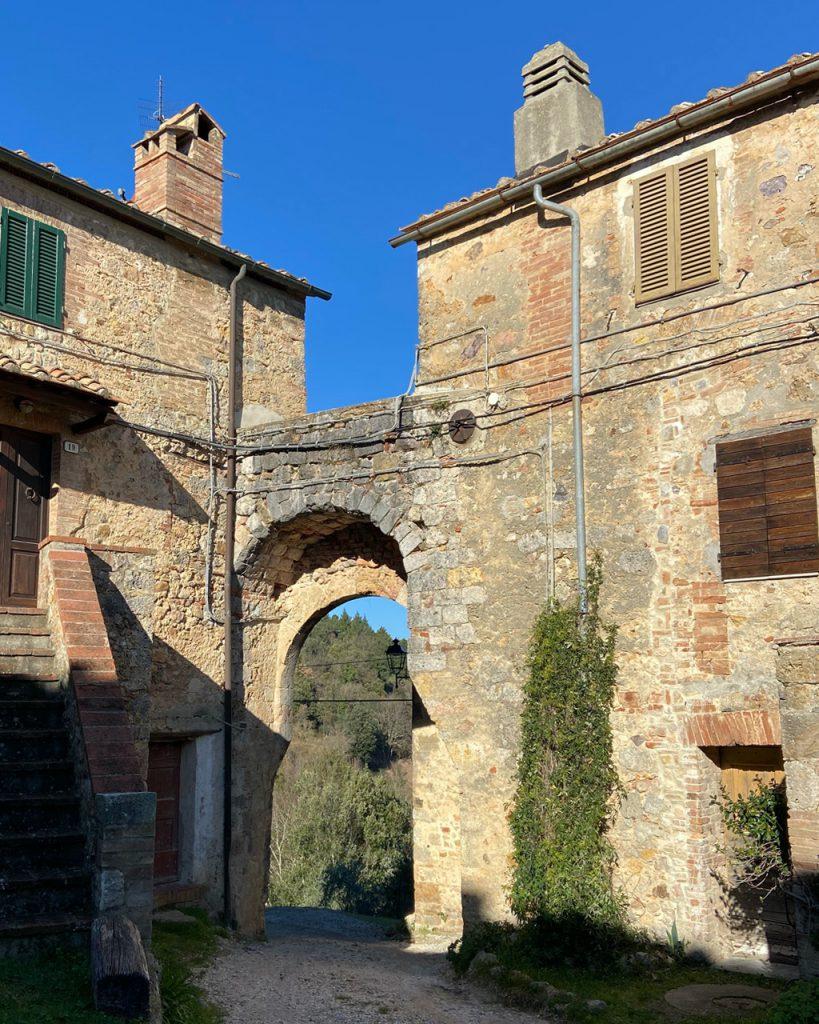 Wanderung Toskana - Castello di Tocchi