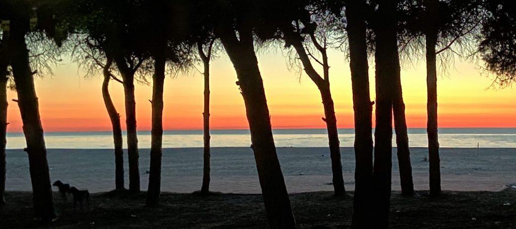 Sonnenuntergang am Miami Beach