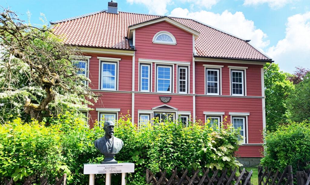 In diesem Haus in Clausthal-Zellerfeld verbrachte Robert Koch seine Jugendzeit
