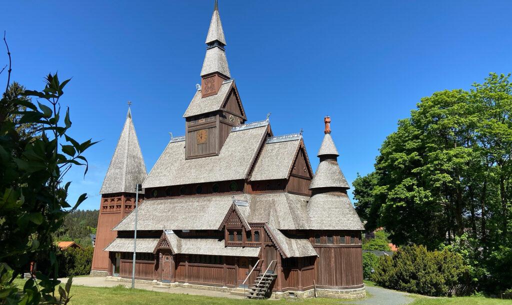 Stabkirche in Hahnenklee (Harz)